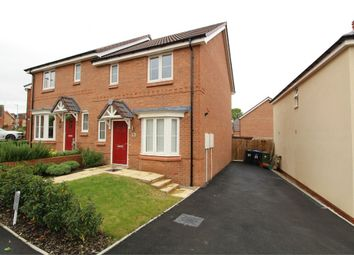 Thumbnail 3 bed semi-detached house to rent in Fairway Meadows, Ullesthorpe, Lutterworth