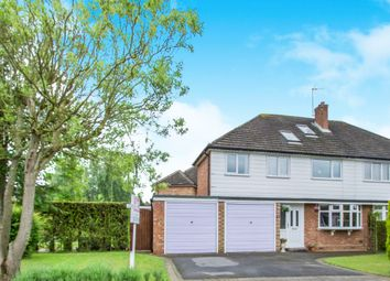 Thumbnail 4 bed semi-detached house for sale in Malvern Road, Balsall Common, Coventry