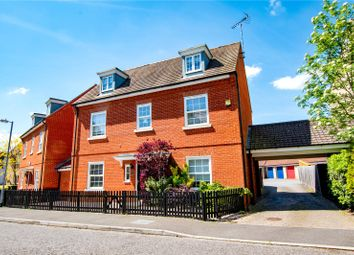 Thumbnail 5 bed detached house for sale in Wilkes Way, Flitch Green, Dunmow, Essex