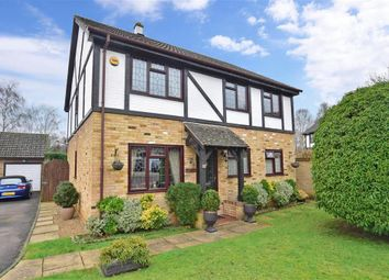 4 bed detached house for sale in Samphire Close, Weavering, Maidstone, Kent ME14