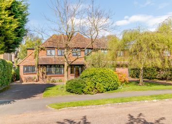 Thumbnail 5 bed detached house for sale in Oatlands Close, Weybridge