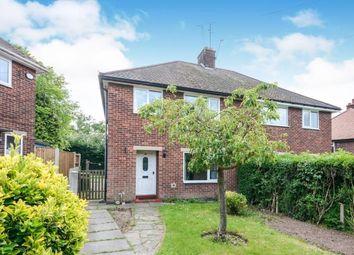 Thumbnail 3 bed semi-detached house for sale in Glebe Avenue, Warsop, Mansfield, Nottinghamshire
