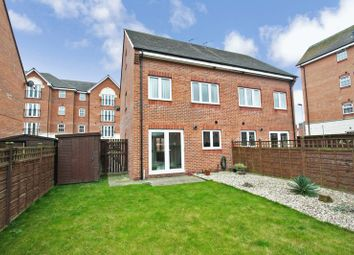 Thumbnail 4 bedroom town house for sale in Priory Chase, Pontefract