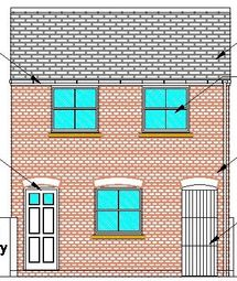 Thumbnail 1 bed flat to rent in Clarence Street, York