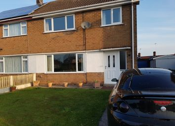 Thumbnail 3 bed semi-detached house for sale in The Green, Bilsthorpe, Newark