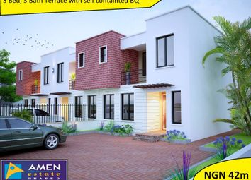 Thumbnail 3 bed terraced house for sale in Amen Estate Phase 2, Eleko Beach Road, Ajah, Ibeju Lekki, Lagos