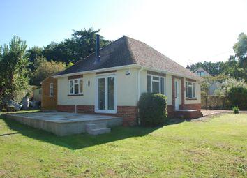 Thumbnail 2 bed detached bungalow to rent in Hale, Fordingbridge, Hampshire