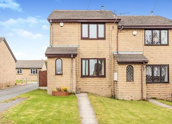 Thumbnail 2 bed semi-detached house for sale in Park Street, Gomersal, Cleckheaton, West Yorkshire