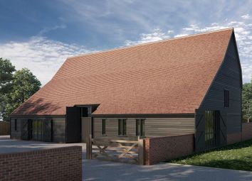 Thumbnail 4 bedroom barn conversion for sale in Church Road, Twinstead, Suffolk