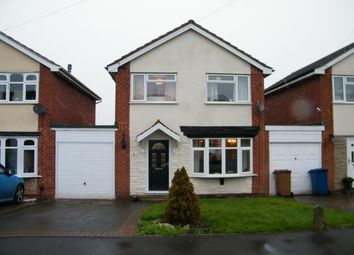 Thumbnail 3 bed link-detached house for sale in Hazelmere Drive, Burntwood, Staffordshire