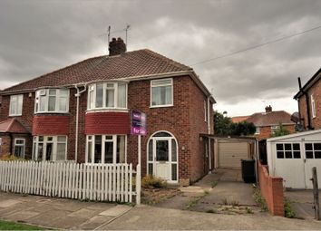 Thumbnail 3 bedroom semi-detached house for sale in Cranbrook Road, York