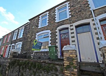 Thumbnail 4 bed terraced house to rent in Wood Road, Treforest