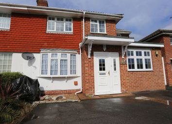Thumbnail 4 bedroom semi-detached house for sale in Antrim Road, Woodley, Reading