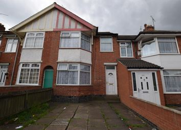 Thumbnail 3 bed terraced house for sale in St. Saviours Road, Leicester