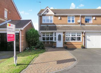 Thumbnail 3 bedroom semi-detached house for sale in Telford Close, Hartlepool