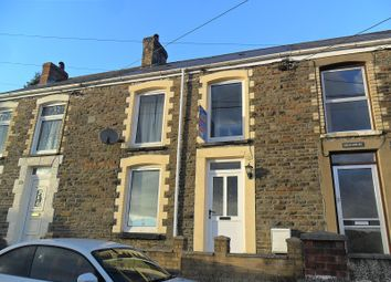 Thumbnail 2 bedroom terraced house for sale in Old Road, Pontardawe, Swansea.