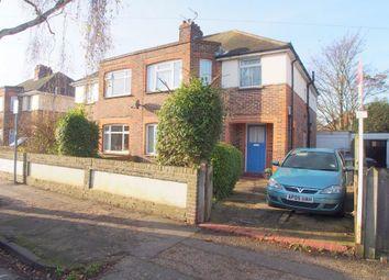 Thumbnail 1 bed flat to rent in Garrick Road, Broadwater, Worthing