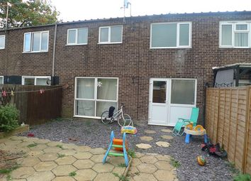 Thumbnail 3 bed terraced house to rent in Deaconscroft, Peterborough, Cambridgeshire.