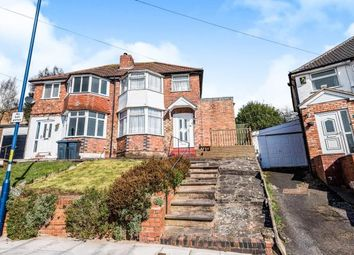 Thumbnail 3 bed semi-detached house for sale in Fairway, Northfield, Birmingham, West Midlands