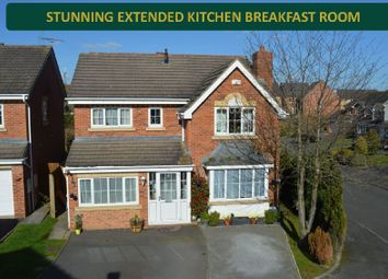 Thumbnail 5 bed detached house for sale in Smore Slade Hills, Oadby, Leicester