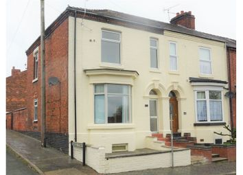 Thumbnail 3 bed end terrace house for sale in Broad Street, Crewe