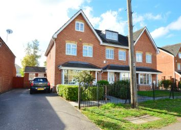 Thumbnail 4 bed end terrace house for sale in Crofthill Road, Slough, Slough