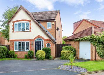 Thumbnail 3 bedroom detached house for sale in Fareham Close, Walton-Le-Dale, Preston