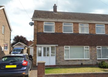 Thumbnail 3 bed semi-detached house to rent in Sunningdale Road, Scunthorpe
