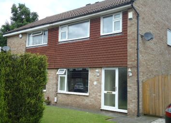 Thumbnail 3 bed semi-detached house to rent in Bickerton Drive, Hazel Grove, Stockport