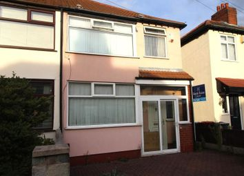 Thumbnail 3 bed semi-detached house for sale in Merton Drive, Huyton, Liverpool