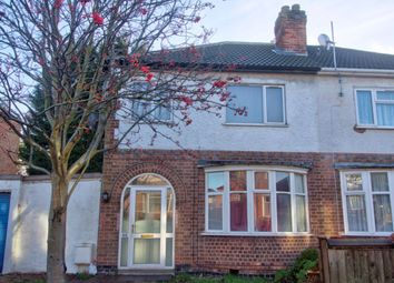 Thumbnail 4 bedroom semi-detached house to rent in Gainsborough Road, Leicester