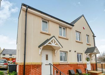 Thumbnail 2 bed semi-detached house for sale in Bugle Place, Newton Abbot