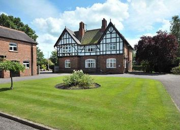 Thumbnail 5 bed detached house for sale in Nantwich Road, Wimboldsley, Middlewich, Cheshire