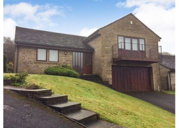 Thumbnail 4 bed detached house for sale in Summerfield Road, Todmorden