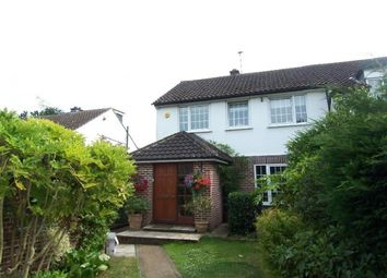 Thumbnail 3 bedroom semi-detached house to rent in Rosehill Close, Hoddesdon