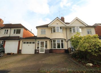 Thumbnail 3 bed semi-detached house for sale in Highfield Road, Hall Green, Birmingham