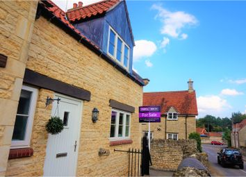 Thumbnail 3 bed end terrace house for sale in Macham Close, Swinstead, Grantham