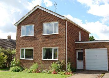 Thumbnail 3 bedroom detached house for sale in Westholme Close, Woodbridge