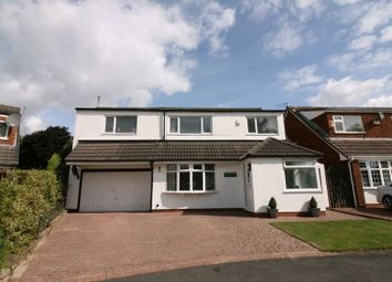 Thumbnail 4 bed detached house for sale in Chapel Meadow, Worsley, Manchester