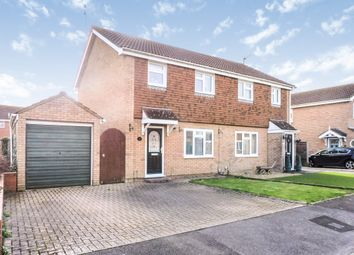 Thumbnail 3 bedroom semi-detached house for sale in Barrowby Gate, Stratton St. Margaret, Swindon