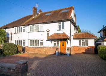 Thumbnail 4 bed semi-detached house for sale in Mount Pleasant Road, Chigwell