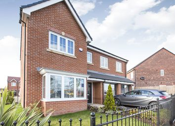 Thumbnail 5 bed detached house for sale in Jack Lane, Moulton, Northwich