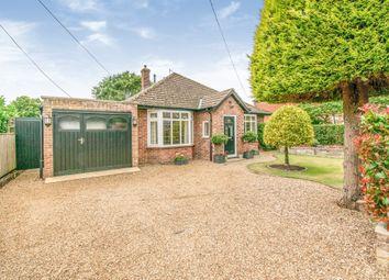 Thumbnail 2 bedroom detached bungalow for sale in Garden Road, Blofield, Norwich