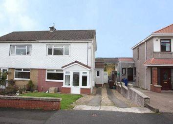 Thumbnail 3 bed semi-detached house for sale in Dunrobin Avenue, Elderslie, Renfrewshire