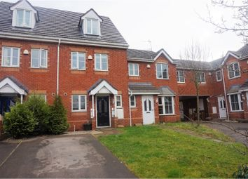 Thumbnail 3 bed town house for sale in Cygnet Gardens, St. Helens