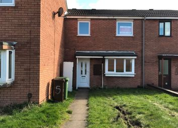 Thumbnail 2 bed terraced house to rent in Smallwood Road, Pendeford, Wolverhampton