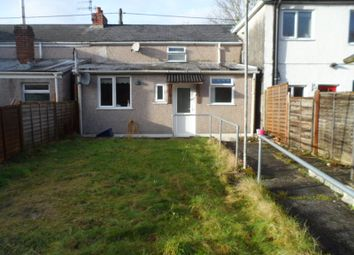 Thumbnail 2 bed terraced house to rent in Heol Glantawe, Ystradgynlais, Swansea