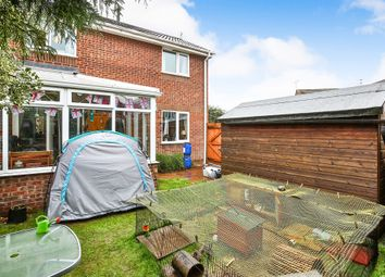Thumbnail 3 bed end terrace house for sale in Kendal Close, Hethersett, Norwich