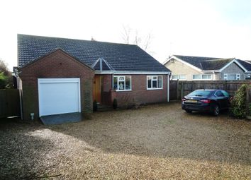 Thumbnail 4 bedroom detached bungalow for sale in Farrow Road, Whaplode Drove, Spalding