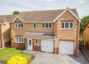 Thumbnail 4 bed detached house for sale in Coleridge Close, Oulton, Leeds
